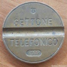 Euros: MONEDA TOKEN TELÉFONO N°7402. Lote 242255690