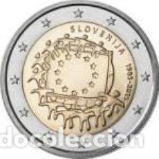 Euros: ESLOVENIA 2015. 2 EUROS. XXX ANIVERSARIO DE LA BANDERA EUROPEA. S/C. Lote 279411958