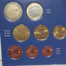 Euros: SERIE /TIRA ESTONIA 8 VALORES 2011. LOS DE LA FOTO. Lote 243201290