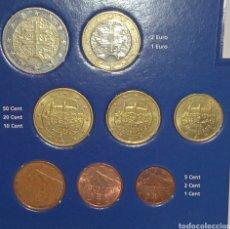 Euros: SERIE /TIRA ESLOVAQUIA 8 VALORES . SE MANDAN LOS DE LA FOTO. Lote 243267940