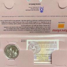 Euros: MONEDAS DE COLECCIÓN,PROVINCIAS DE ESPAÑA, 5 EUROS BARCELONA. Lote 243330345