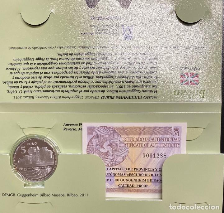 MONEDAS DE COLECCIÓN,PROVINCIAS DE ESPAÑA, 5 EUROS BILBAO (Numismática - España Modernas y Contemporáneas - Ecus y Euros)