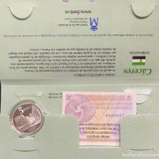 Euros: MONEDAS DE COLECCIÓN,PROVINCIAS DE ESPAÑA, 5 EUROS CÁCERES. Lote 243332815