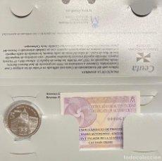 Euros: MONEDAS DE COLECCIÓN,PROVINCIAS DE ESPAÑA, 5 EUROS CEUTA. Lote 243333285