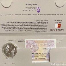 Euros: MONEDAS DE COLECCIÓN,PROVINCIAS DE ESPAÑA, 5 EUROS CIUDAD REAL. Lote 243333445