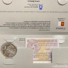 Euros: MONEDAS DE COLECCIÓN,PROVINCIAS DE ESPAÑA, 5 EUROS CUENCA. Lote 243333675
