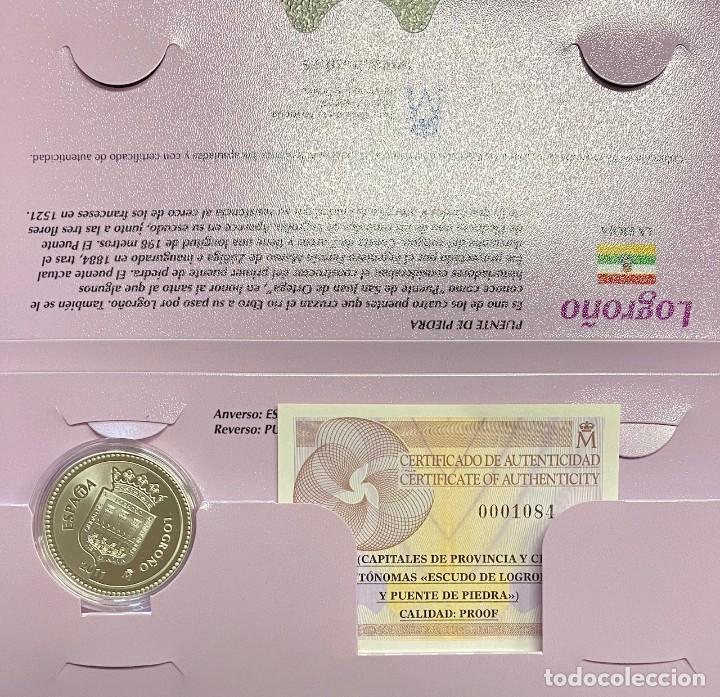 MONEDAS DE COLECCIÓN,PROVINCIAS DE ESPAÑA, 5 EUROS LOGROÑO (Numismática - España Modernas y Contemporáneas - Ecus y Euros)