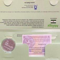 Euros: MONEDAS DE COLECCIÓN,PROVINCIAS DE ESPAÑA, 5 EUROS MÁLAGA. Lote 243365955