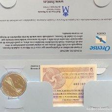 Euros: MONEDAS DE COLECCIÓN,PROVINCIAS DE ESPAÑA, 5 EUROS ORENSE. Lote 243366610