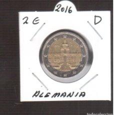 Euros: MONEDAS DE EURO ALEMANIA 2 € LETRA D. Lote 243442665