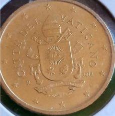 Euros: 50 CENTIMOS DE EURO DEL VATICANO 2018 SIN CIRCULAR. ADJUNTO PEDIDOS. ACEPTO OFERTAS. Lote 243494385