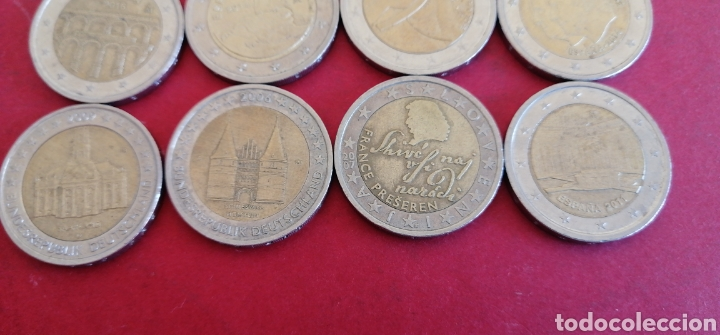 Euros: Lote de 12 monedas de 2 euros. Conmemorativas - Foto 2 - 243590170