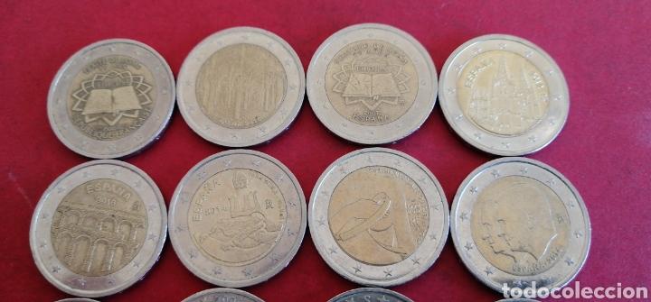 Euros: Lote de 12 monedas de 2 euros. Conmemorativas - Foto 3 - 243590170