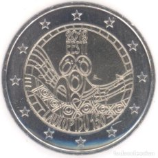 Euros: MONEDA 2 EUROS ESTONIA 2019 - FESTIVAL DE LA CANCION. Lote 244611620