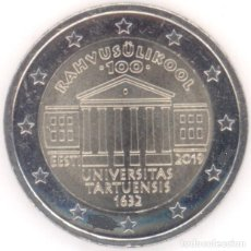 Euros: MONEDA 2 EUROS ESTONIA 2019 - UNIVERSIDAD DE TARTU. Lote 244611910