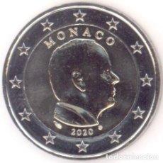 Euros: MONEDA 2 EUROS MONACO 2020 - LA NORMAL - SIN CIRCULAR. Lote 244864580
