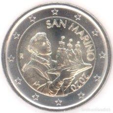 Euros: MONEDA 2 EUROS MONACO 2020 - SIN CIRCULAR. Lote 244865365