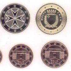 Euros: SERIE MALTA 2020 - 8 VALORES SIN CIRCULAR. Lote 244866215