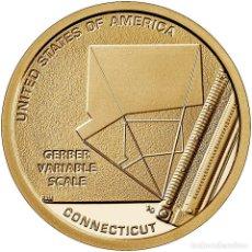 Euros: MONEDA 1 DOLAR USA 2020 - CECA P - SERIE INNOVATION - CONNECTICUT - SIN CIRCULAR. Lote 244867025