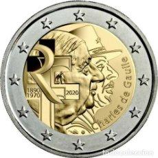 Euros: 2 EUROS FRANCIA 2020 CHARLES DE GAULLE. Lote 244903785