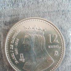 Euros: MONEDA 12 EURO ESPAÑA FNMT 2004 PLATA EN FUNDA DEL BANCO. Lote 245047025