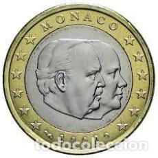 Euro: MONEDA 1 EURO MONACO 2002 - SIN CIRCULAR. Lote 245553035