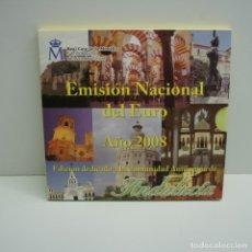 Euros: CARTERA EMISIÓN NACIONAL DEL EURO AÑO 2008 ANDALUCIA .. Lote 246472480