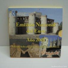 Euros: CARTERA EMISIÓN NACIONAL DEL EURO AÑO 2008 ARAGÓN .. Lote 246472900