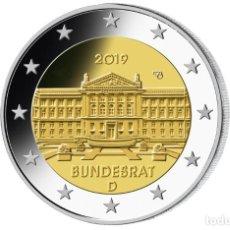 Euros: MONEDA 2 EUROS ALEMANIA 2019 - CECA G - BUNDESRAT - SIN CIRCULAR. Lote 246966080