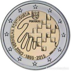 Euros: PORTUGAL 2015. 2 EUROS. 150 AÑOS DE LA CRUZ ROJA PORTUGUESA. S/C. Lote 279411878
