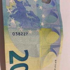 Euros: BILLETE DE 20 EUROS FIRMADO CRISTINA LAGARD. Lote 247510340