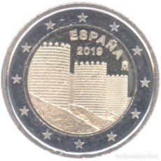 Euros: MONEDA 2 EUROS ESPAÑA 2019 - MURALLAS DE AVILA - SIN CIRCULAR. Lote 296597108