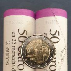Euros: MONEDA 2 EUROS ESPAÑA 2021 - CIUDAD HISTORICA DE TOLEDO - SIN CIRCULAR. Lote 247682170