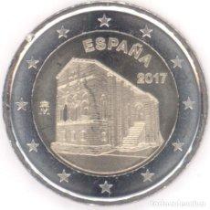 Euros: MONEDA 2 EUROS ESPAÑA 2017 - SANTA MARIA DEL NARANCO - SIN CIRCULAR. Lote 296595898