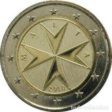 Euros: MONEDA 2 EUROS MALTA 2010 - LA NORMAL - SIN CIRCULAR. Lote 296594008