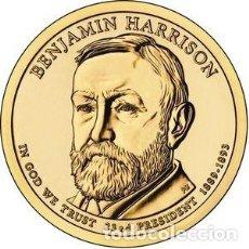 Euros: DOLAR USA 2012 - CECA P - BENJAMIN HARRISON - 23TH PRESIDENTE - SIN CIRCULAR. Lote 270361473
