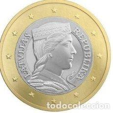 Euros: MONEDA 1 EURO LETONIA 2016 - SIN CIRCULAR. Lote 296594208