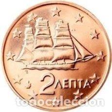 Euros: MONEDA 2 CTS GRECIA 2010 - SIN CIRCULAR. Lote 296596538