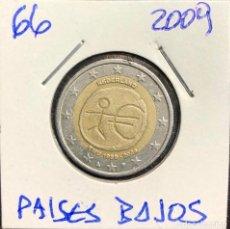 Euro: 66 PAÍSES BAJOS MONEDA 2 EUROS CONMEMORATIVA 10 AÑOS UNIOM MONETARIA. Lote 250194770