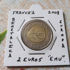 Euros: MONEDA 2 EUROS FRANCIA 2009 EMÚ MBC ENCARTONADA. Lote 252638025