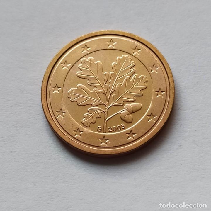 2 CENT ALEMANIA 2003 G - SIN CIRCULAR (Numismática - España Modernas y Contemporáneas - Ecus y Euros)