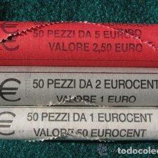 Euros: TRIO DE MONEDAS 1, 2 Y 5 CTS - ITALIA 2004 - SIN CIRCULAR. Lote 254038715