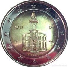 Euros: MONEDA 2 EUROS ALEMANIA 2015 - CECA F - HESSEN - SIN CIRCULAR. Lote 254042180