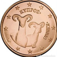 Euros: MONEDA 2 CTS CHIPRE 2014 - SIN CIRCULAR. Lote 254079495