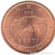 Euros: MONEDA 1 CT ESTONIA 2015 - SIN CIRCULAR. Lote 254081530
