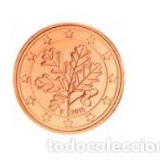 Euros: MONEDA 5 CTS ALEMANIA 2015 - CECA F - SIN CIRCULAR. Lote 254083070