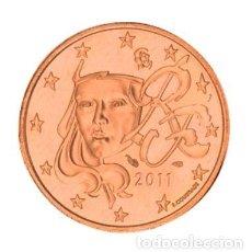 Euros: MONEDA 5 CTS FRANCIA 2011 - SIN CIRCULAR. Lote 254092135