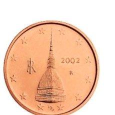 Euros: MONEDA 2 CTS ITALIA 2002 - SIN CIRCULAR. Lote 254118570