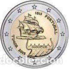 Euros: PORTUGAL 2015. 2 EUROS. 500 AÑOS DE LOS PRIMEROS CONTACTOS CON TIMOR. S/C. Lote 254222885