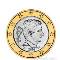 Euros: MONEDA 1 EURO BELGICA 2014 - SIN CIRCULAR. Lote 254260045